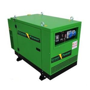 GREENPOWER Volvo Diesel Power generator 130kVA 104kW